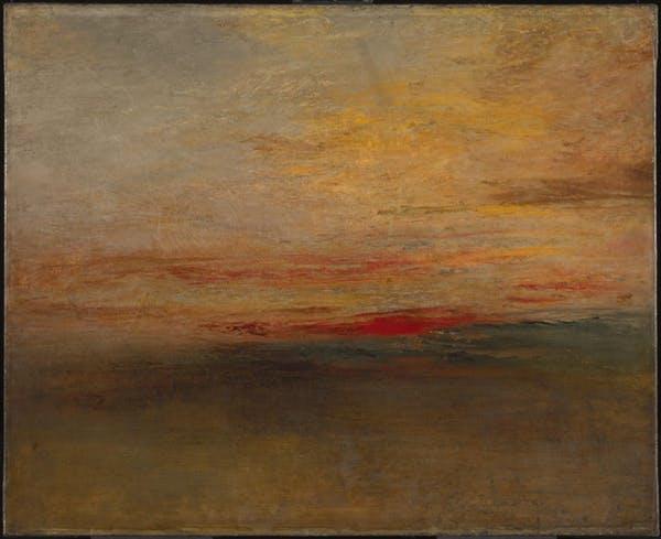 Tambora Turner painting