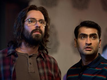 'Silicon Valley' Stars Dinesh and Gilfoyle Open Google Event