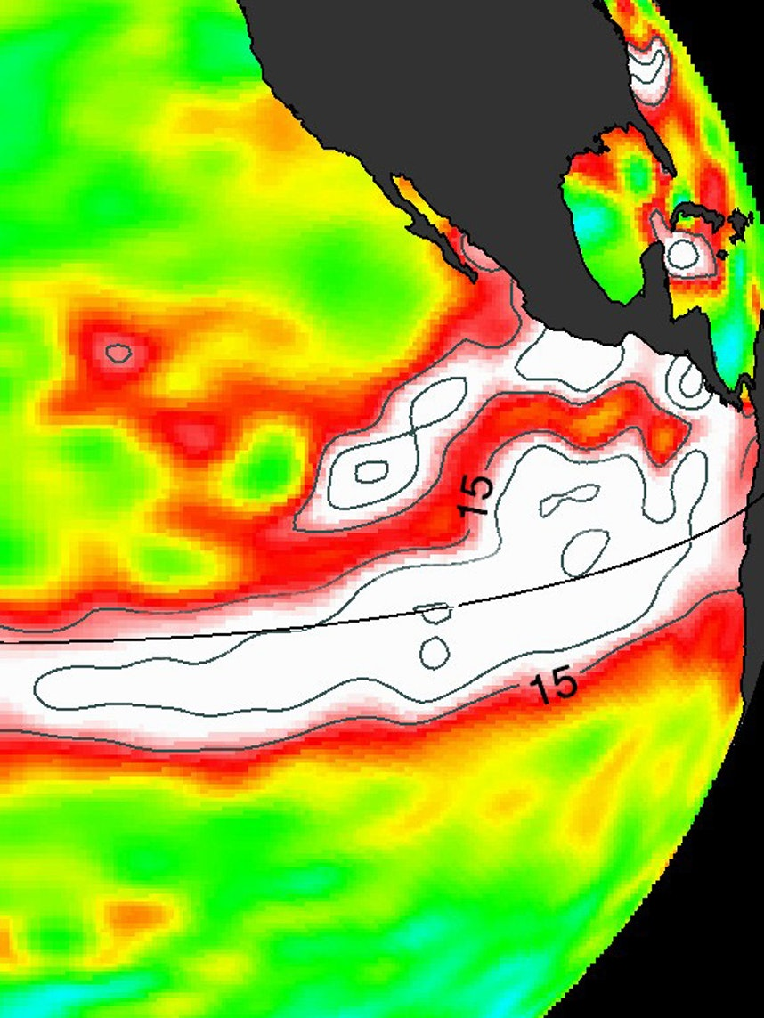 The El Nino of 2015-2016 is a monster.