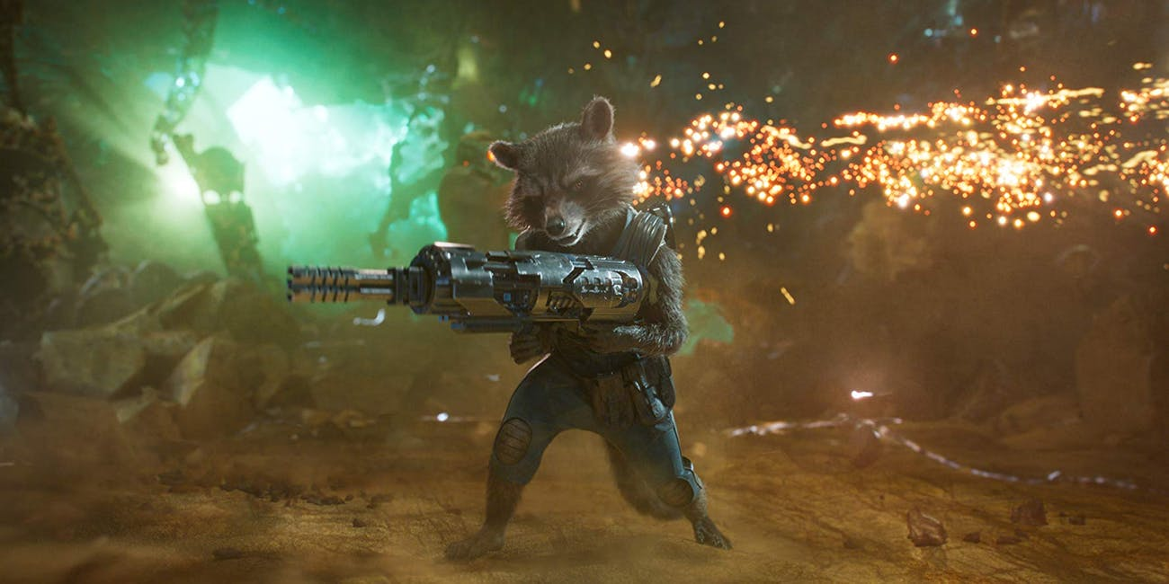 Rocket Raccoon in 'Guardians of the Galaxy: Vol. 2'