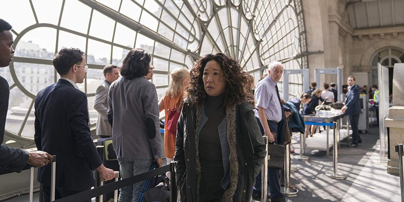 Eve (Sandra Oh) in 'Killing Eve' season 2 on BBC America
