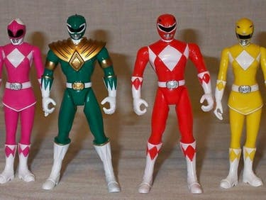 The Faceless Iconography of the Power Rangers is Still Making Billions