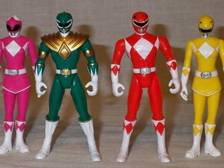 The Insanity Over 'Power Rangers' Toys in the '90s Never Died