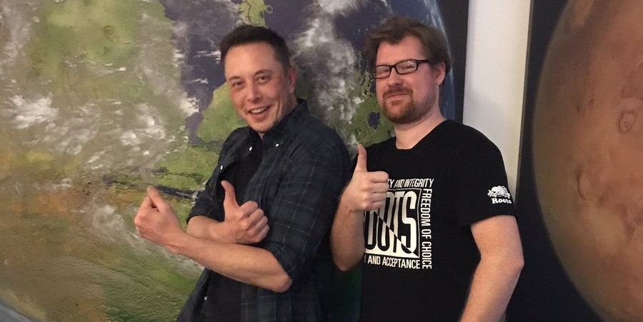 Elon Musk Met 'Rick and Morty' Stars, and the Results Are