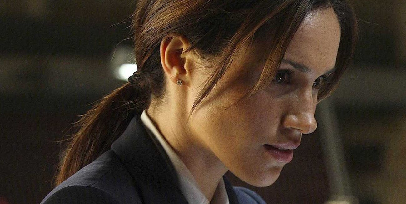 royal wedding watch meghan markle play an fbi agent in sci fi