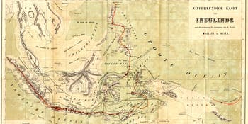 Map of the Malay Archipelago