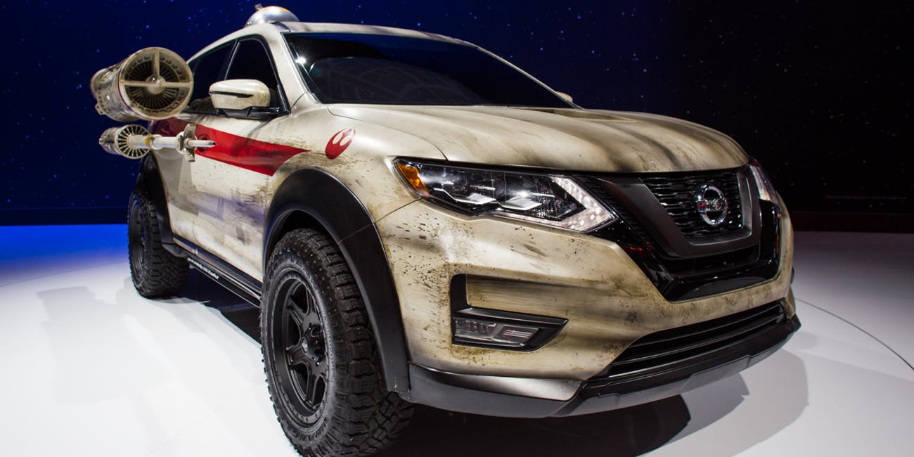 Nissan Shows Off Wild Star Wars Mods On Its Rogue Suv