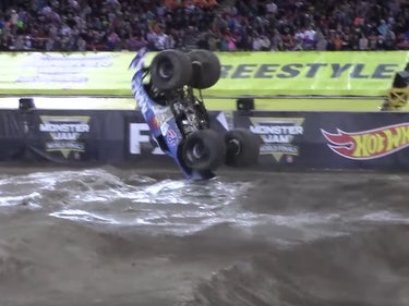 A Front-Flipping Monster Truck, Explained by Physics