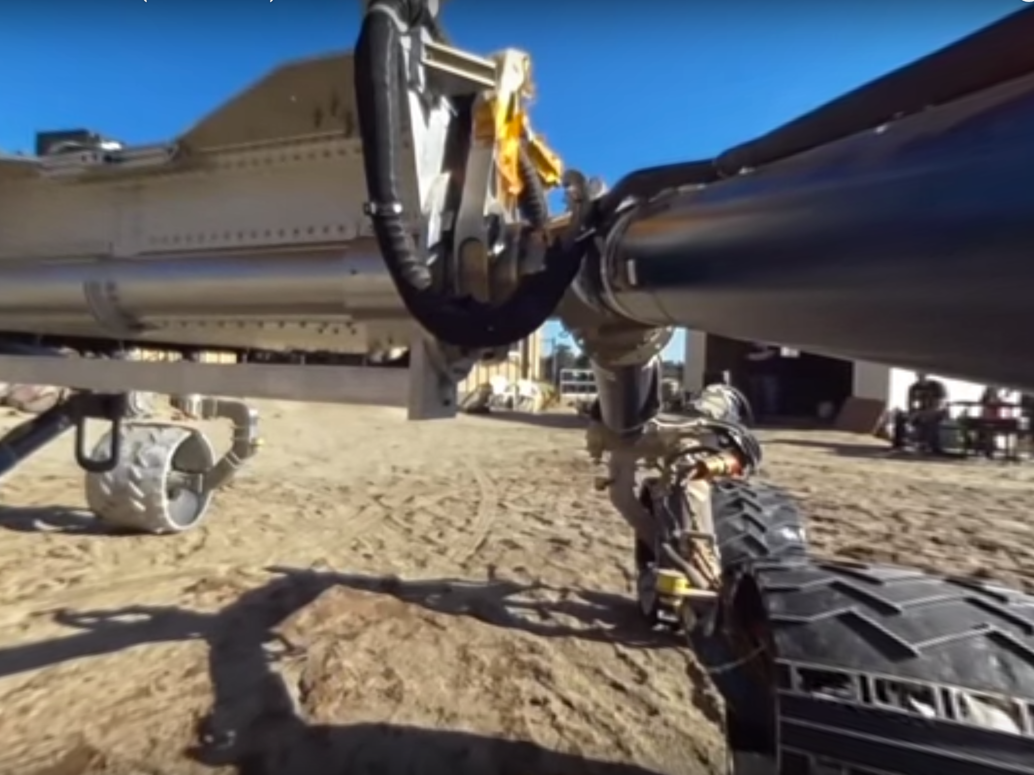 Watch NASA's Prototype Mars Rover Cruise Along in 360-Degree Video