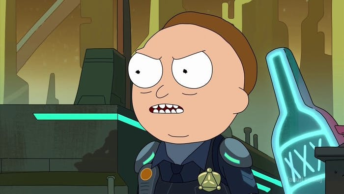 Cop Morty is crooked AF.