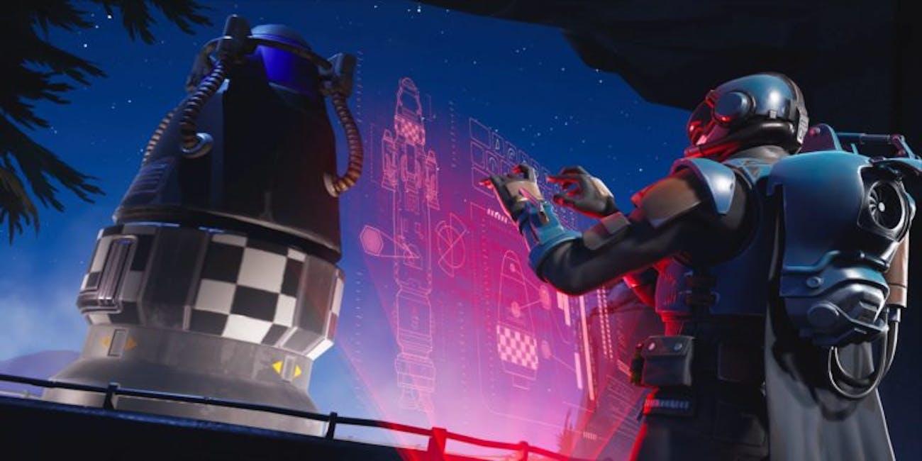 'Fortnite' Season 4 Rocket Launch Blockbuster Loading Skin
