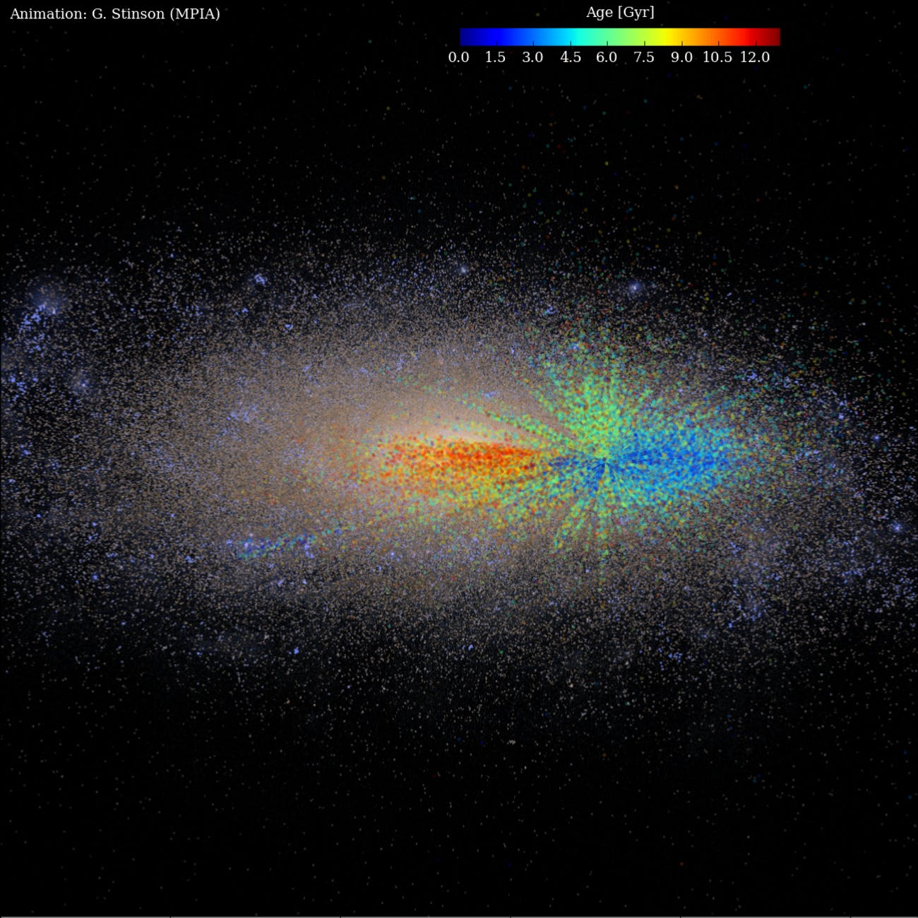 New Milky Way 'Age Map' Shows How Our Galaxy Grew | Inverse