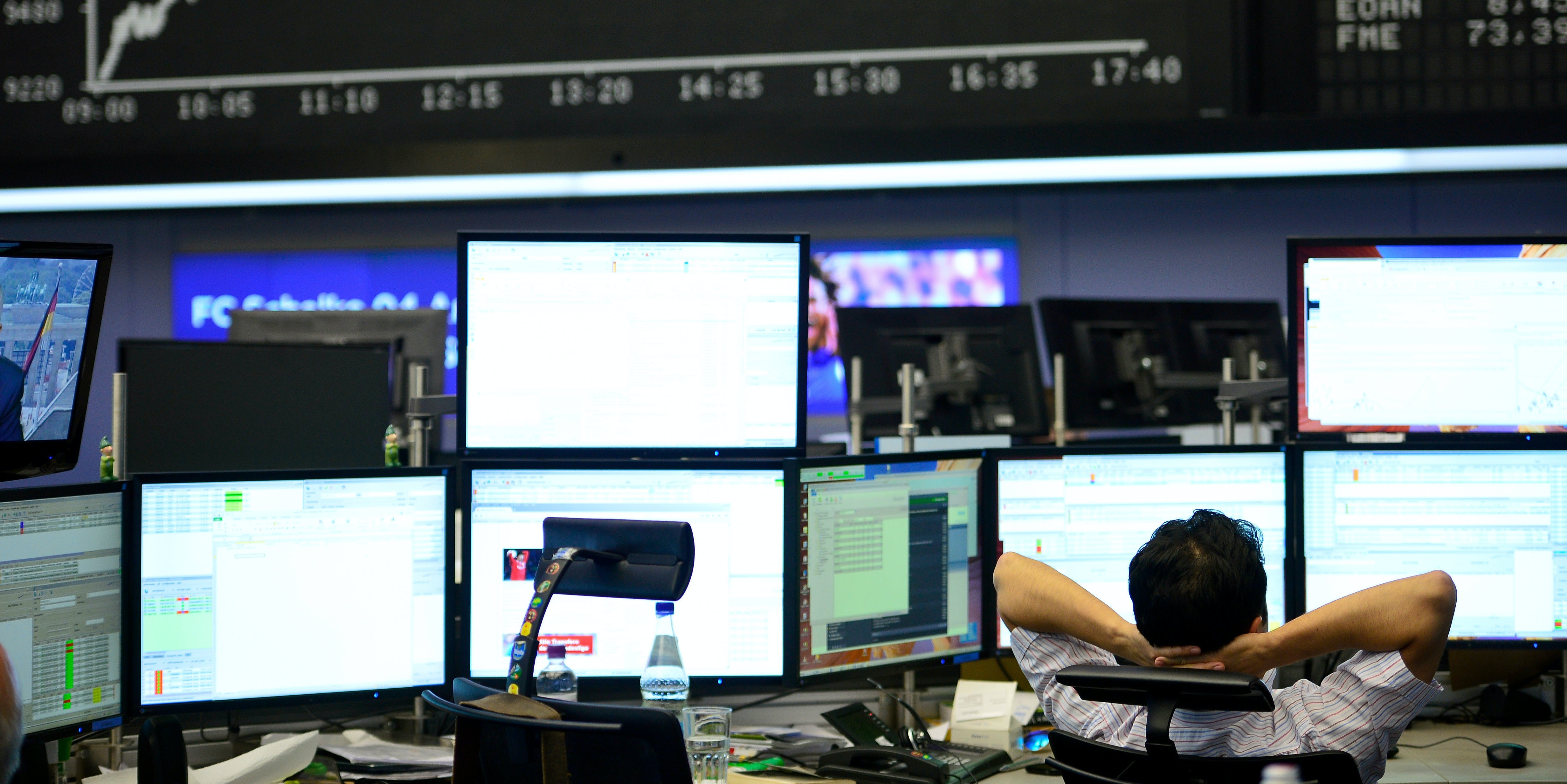 Stock market trading is already largely done by computers and algorithms.