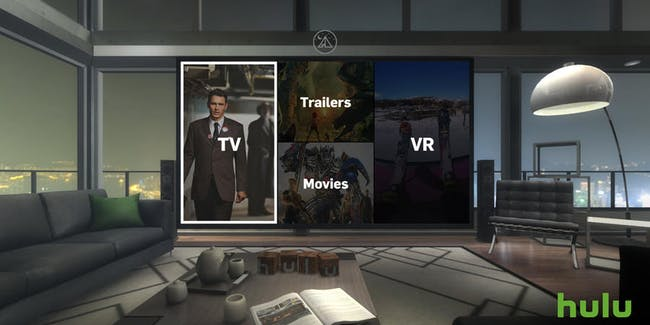 Hulu\'s VR App Launches, Creating a Virtual Living Room | Inverse