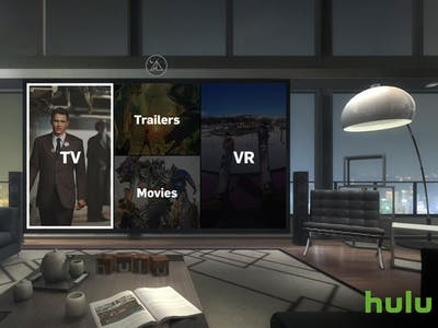 Hulu's VR App Launches, Creating a Virtual Living Room