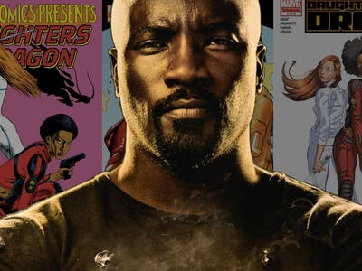 Luke Cage Daughters of the Dragon