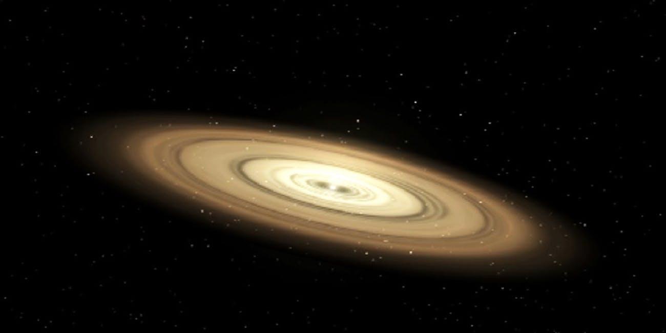 proto-planetary disc