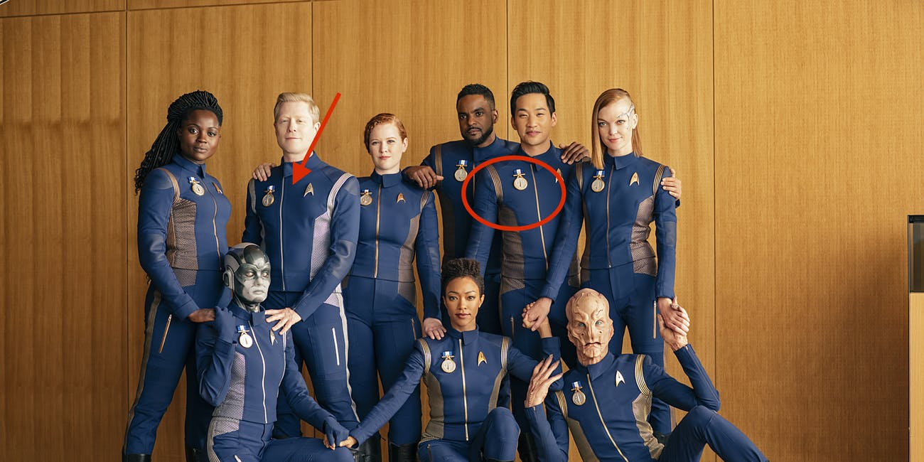 Star Trek: Discovery' Outtake Photos Reveal TOS Easter Egg