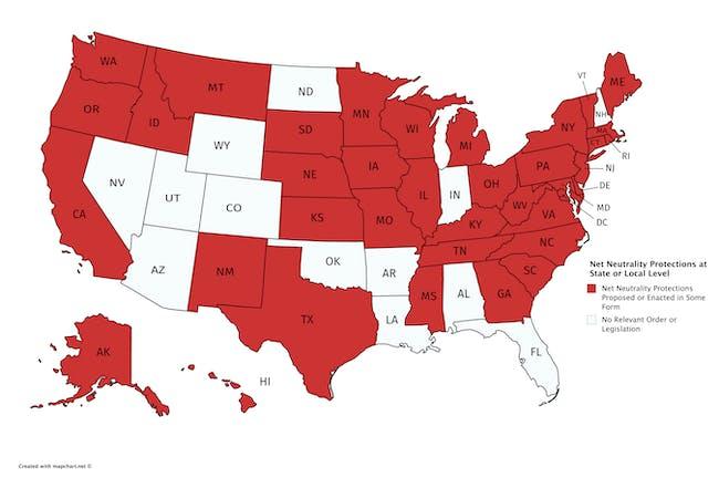 map net neutrality