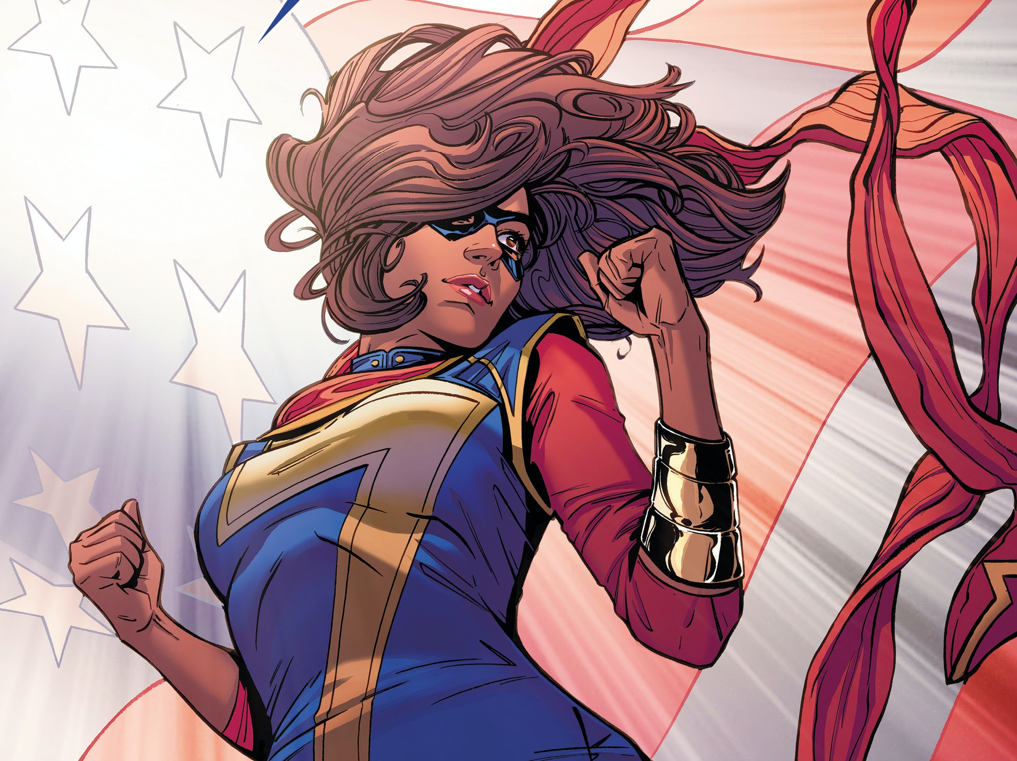 Ms. Marvel Election President