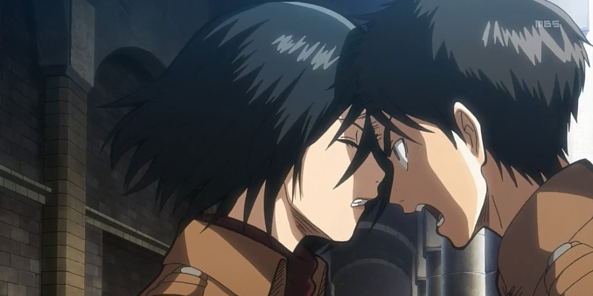 Eren Jaeger Crying Gif