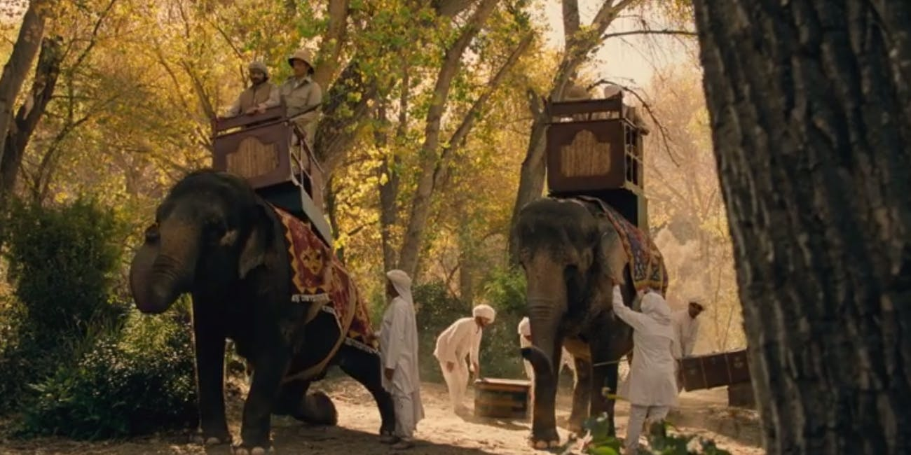 Westworld Elephants