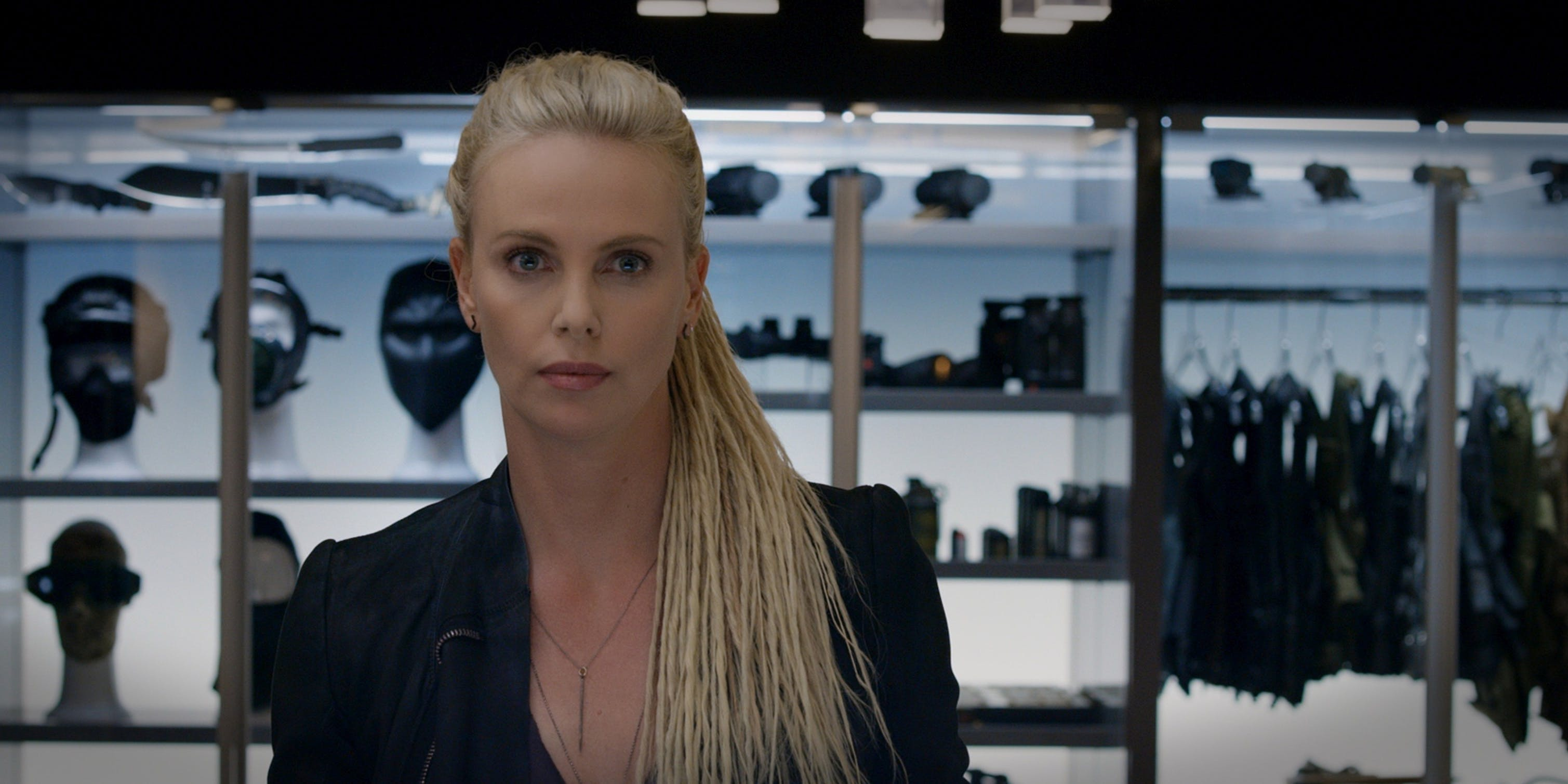 Charleze Theron as Cipher in 'The Fate of the Furious'