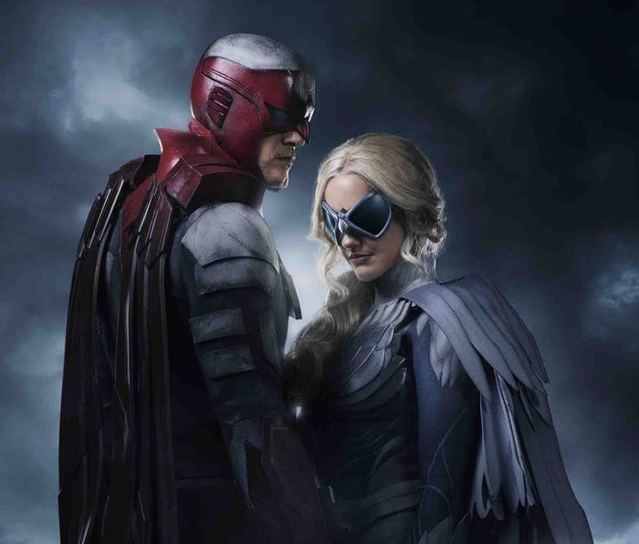 Titans DC Hawk and Dove