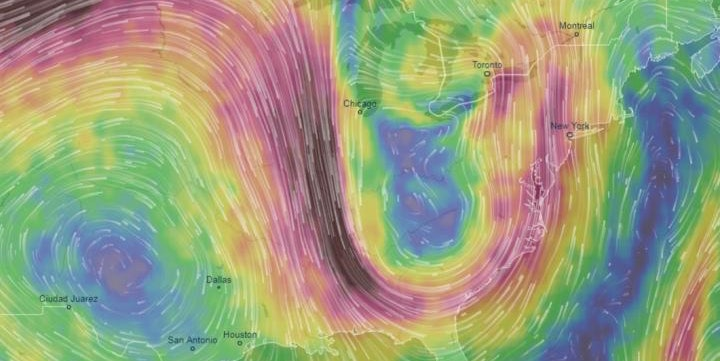 Video Shows How Extreme Weather Is More Prevalent Because of Unusual Jet Streams