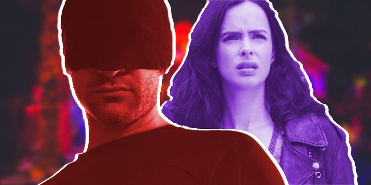 Daredevil Jessica Jones Halloween Cosplay
