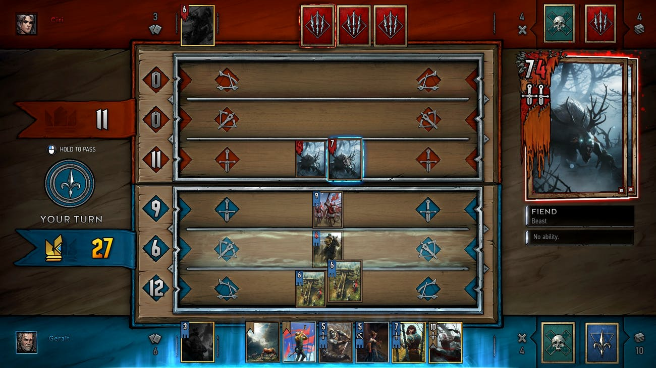 The Witcher Gwent Standalone Card Game Digital