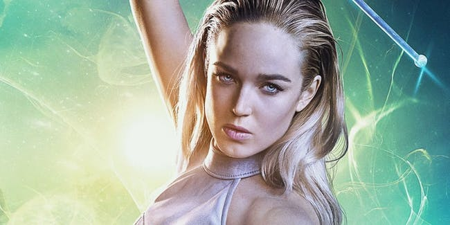 Caity Lotz plays Sara Lance, aka White Canary, on 'DC's Legends of Tomorrow'.