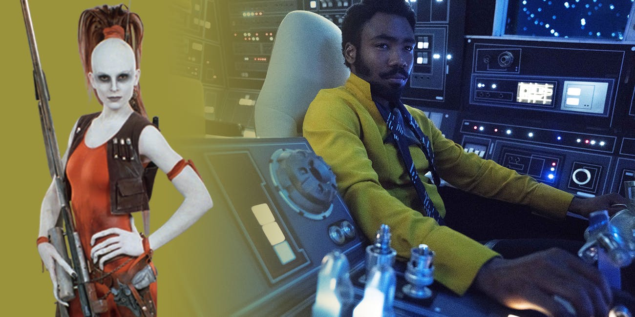 Lando apparently had beef with Aurra Sing