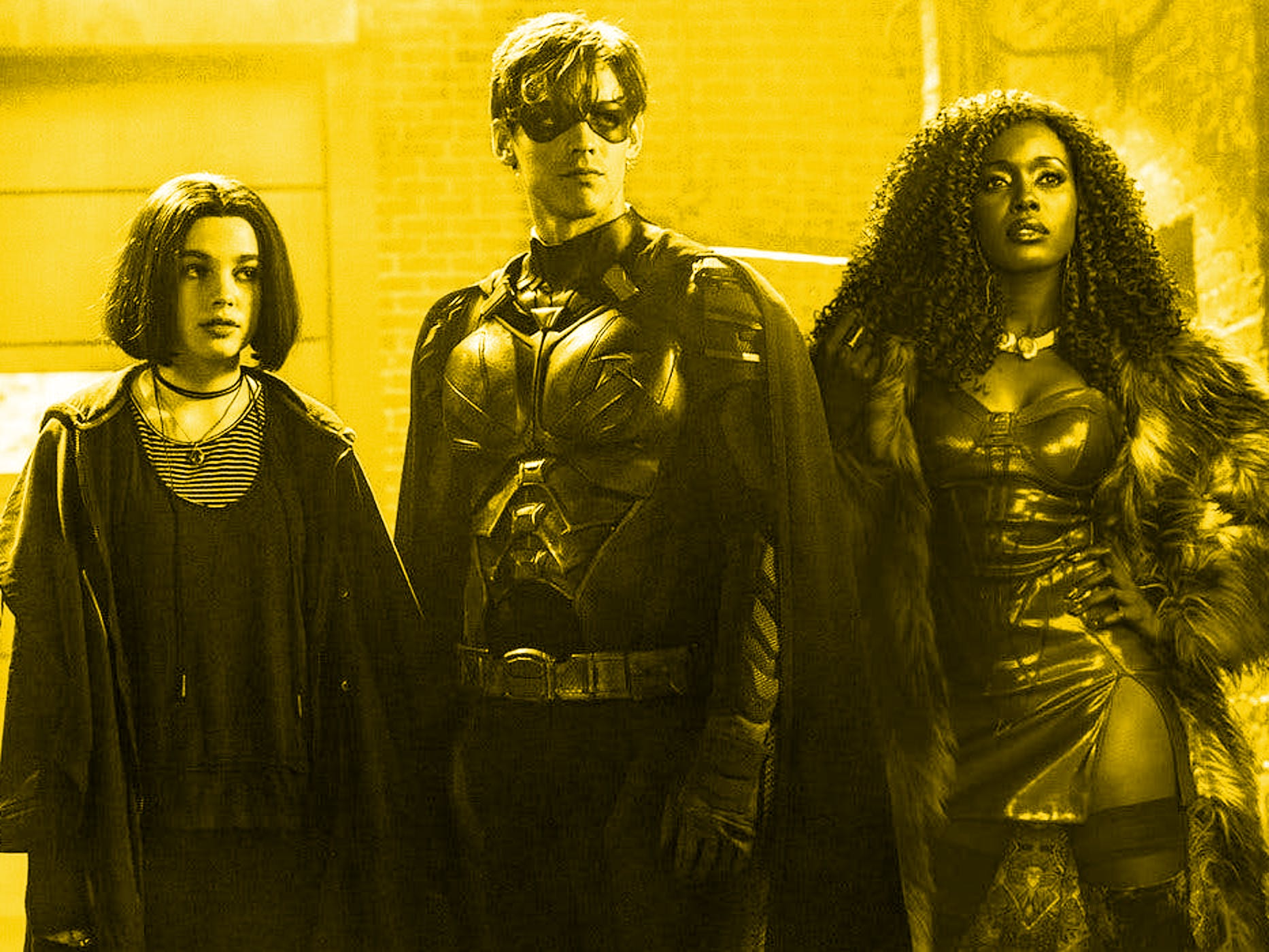 All four major Titans team up in 'Titans'.