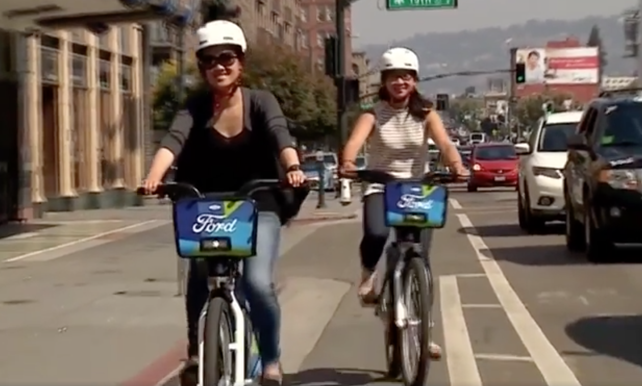 Ford sees all modes of transportation services as its future, even bicycle sharing programs.