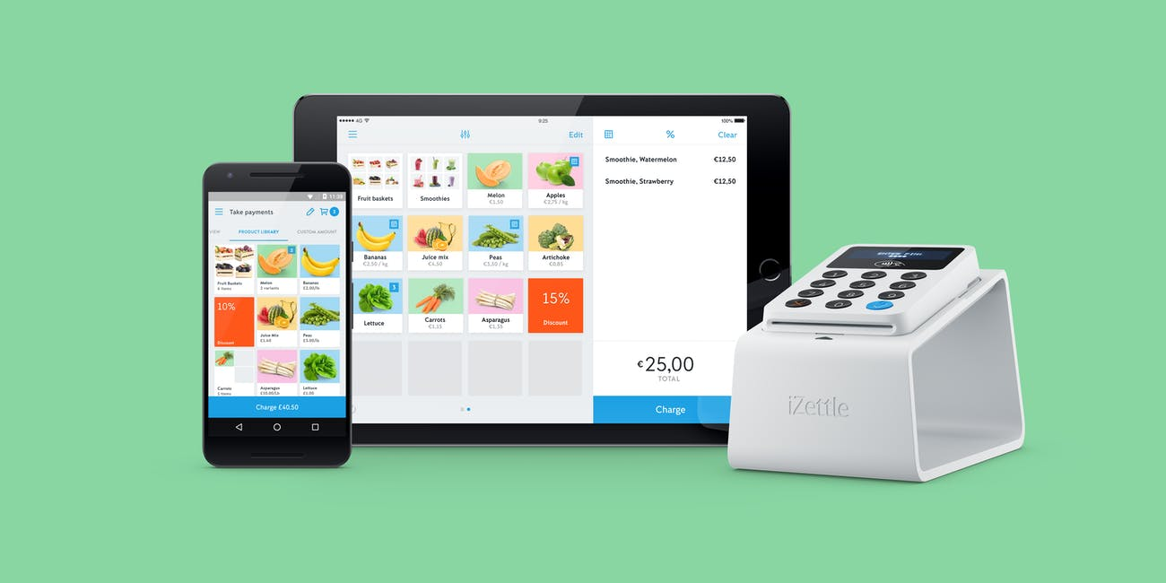 iZettle group of products