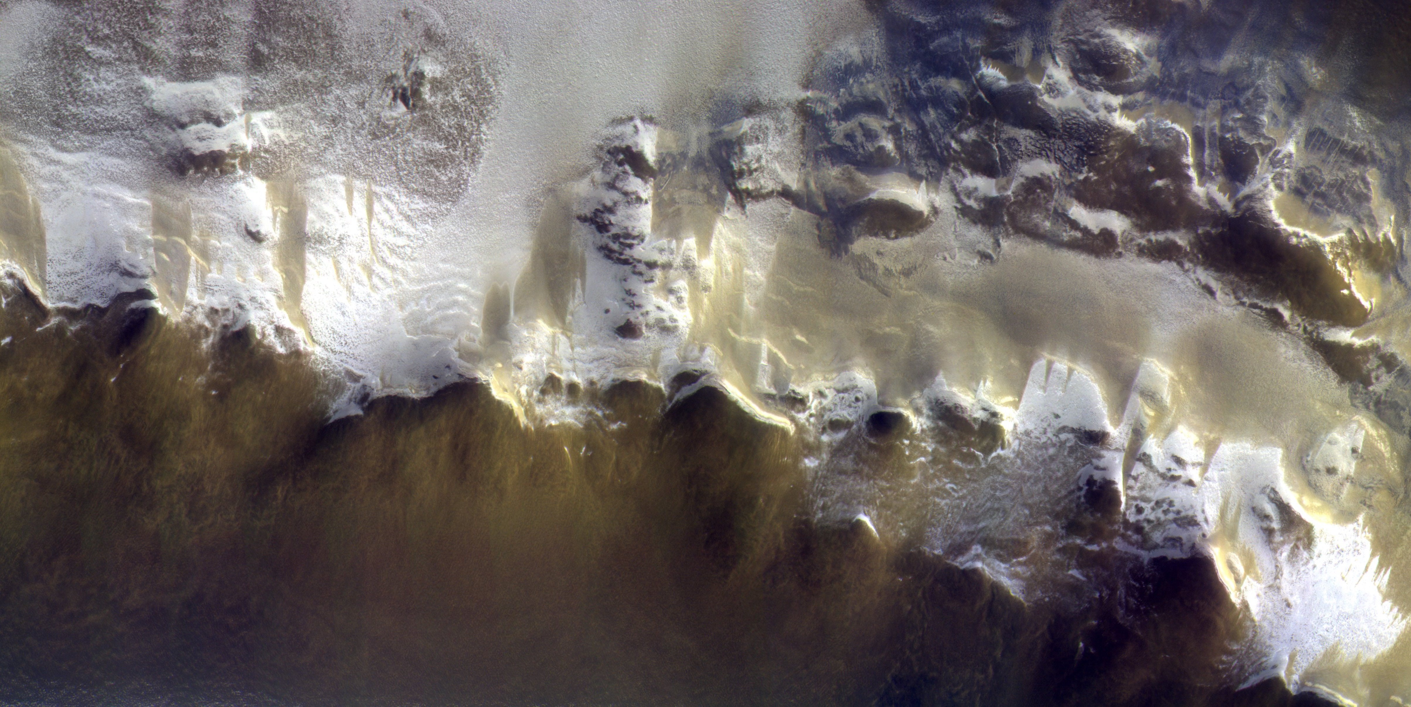 ExoMars' First Photos From Orbit Are Absolutely Surreal