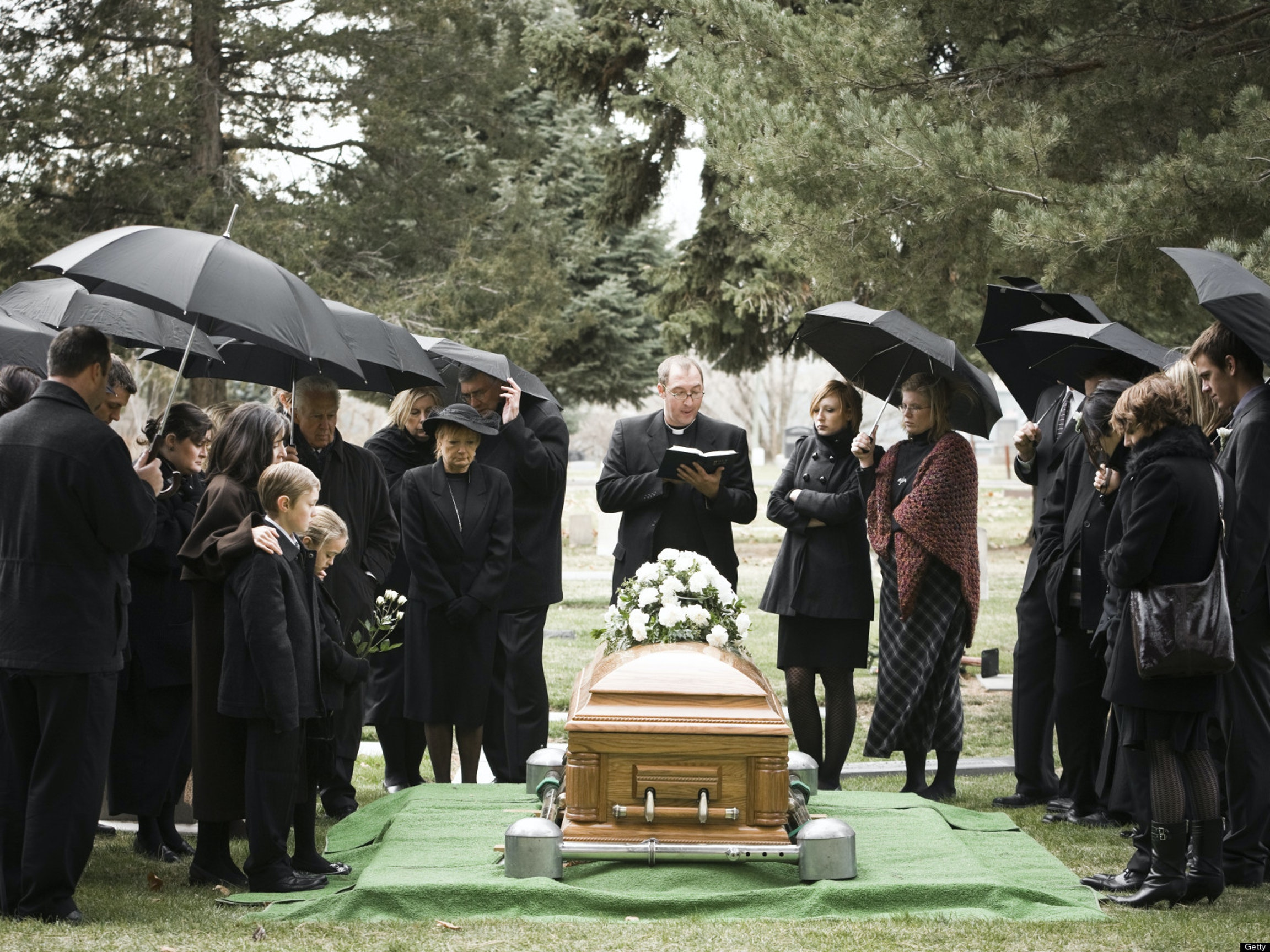 Why We Wear Black When We Mourn