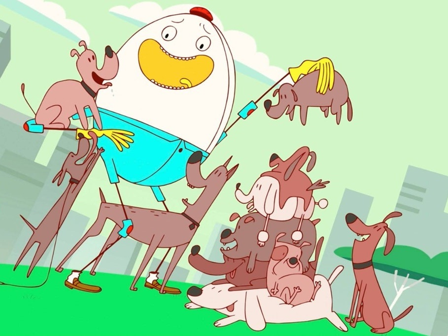 Amazon's Animated 'Danger & Eggs' Is a Bizarre Delight for All Ages