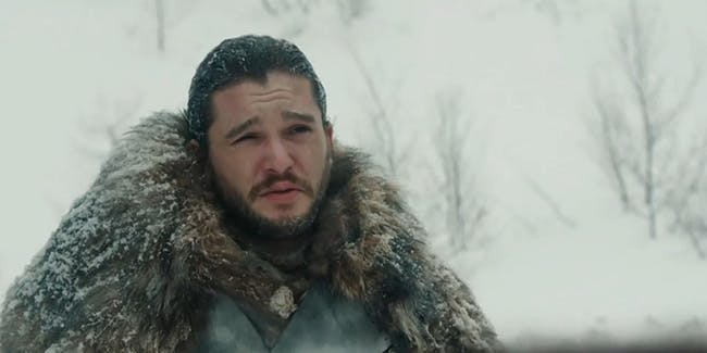 Jon Snow North of The Wall in new 'Game of Thrones' Season 7 video