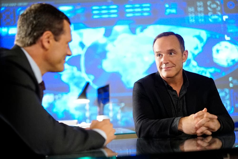 Coulson and the new SHIELD director