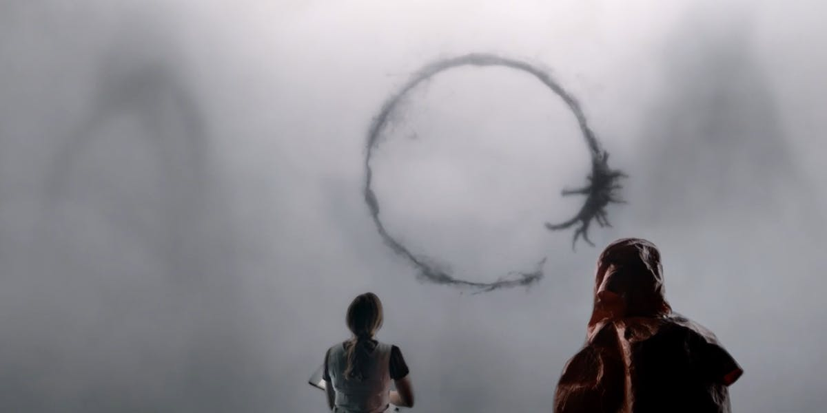 Heptapod writing in 'Arrival'