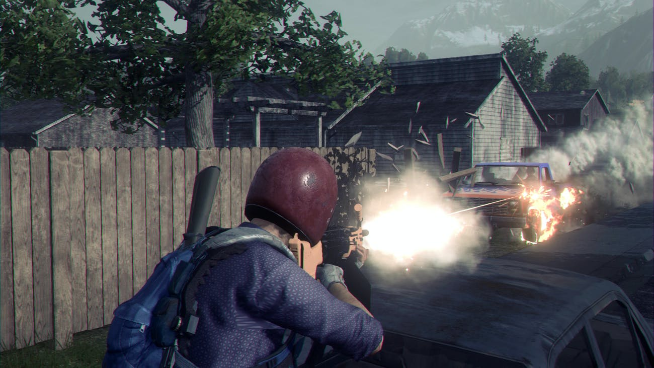 Vehicles play a huge part in the 'H1Z1: Battle Royale' experience.