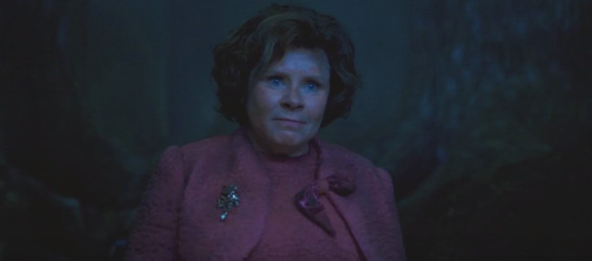 Dolores Umbridge in 'Harry Potter and the Order of the Phoenix'