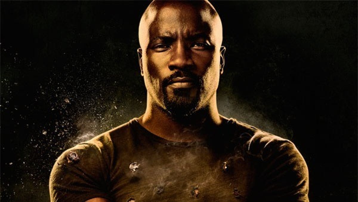 Luke Cage, the bulletproof protector of Harlem.