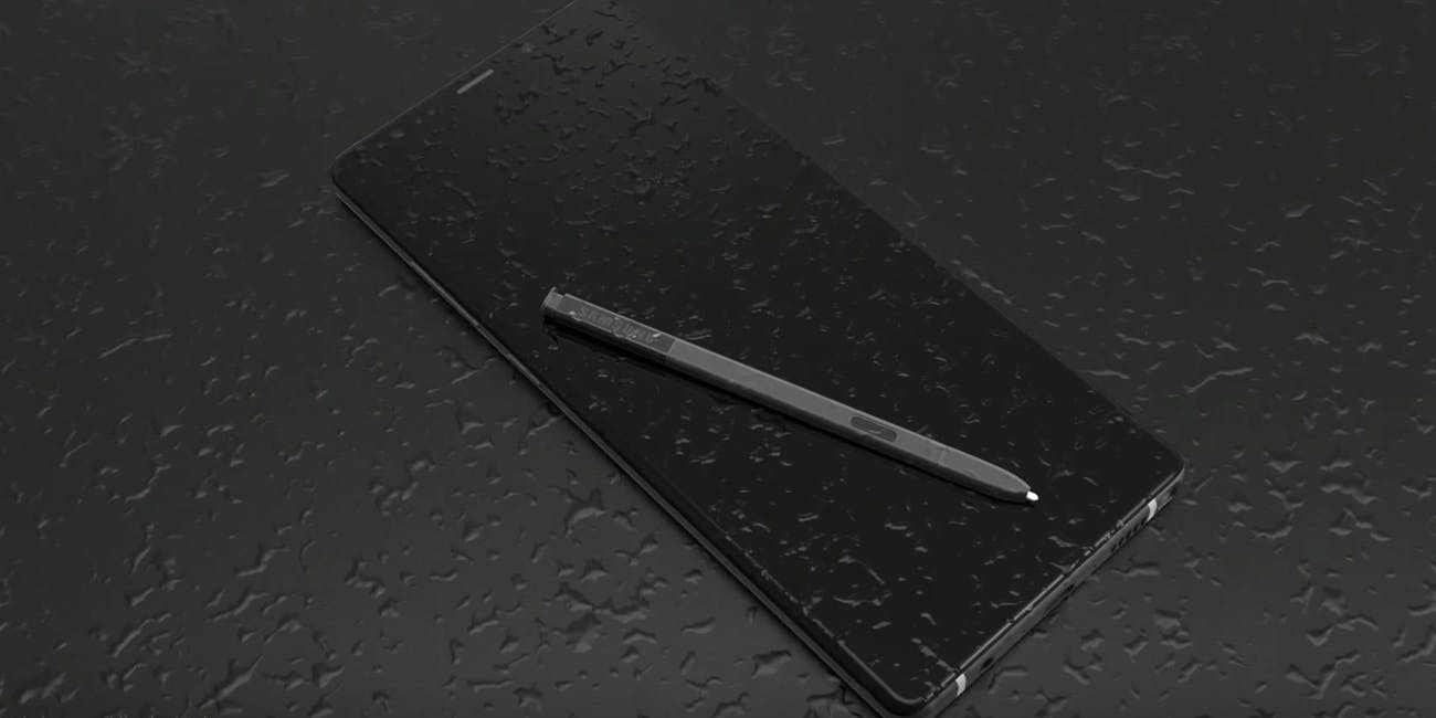 samsung galaxy note 9 concept art