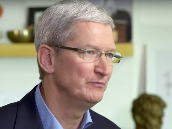 Tim Cook Says Apple Is Prepared to Take iPhone Case to the Supreme Court