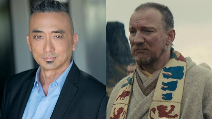 Paul Nakauchi plays Watari in Netflix's 'Death Note' (2017), and David Thewlis plays King Duncan in 'Macbeth' (2015).
