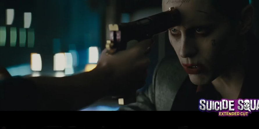 Jared Leto as Joker in Warner Bros DC Suicide Squad Extended Cut