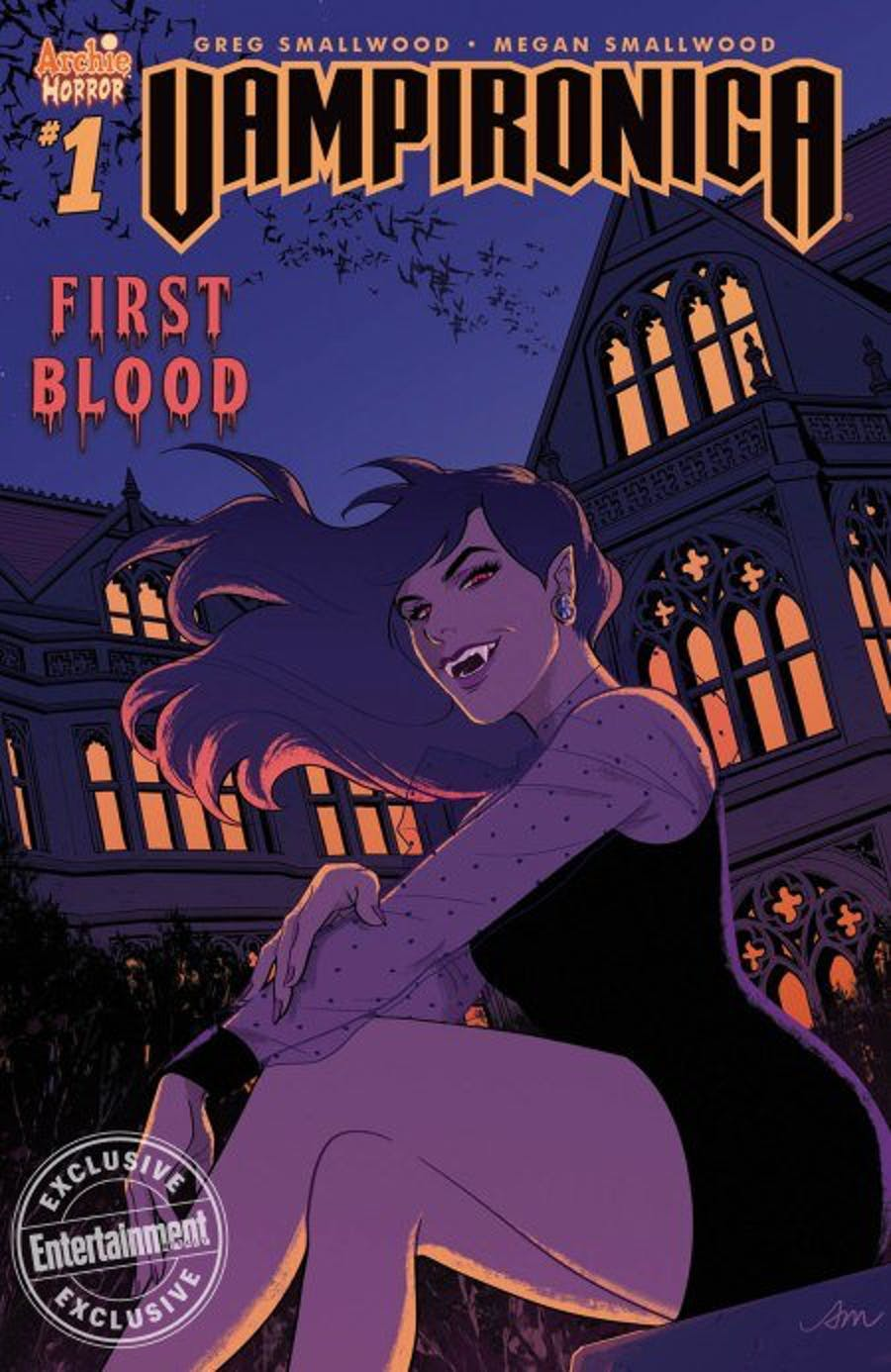 Cover of ' Vampironica' issue.